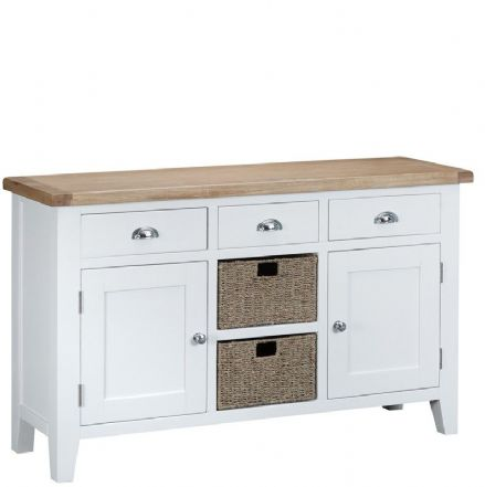 Toulouse White Large Sideboard